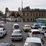 Пробка и Бардак на дороге в Ташкенте
